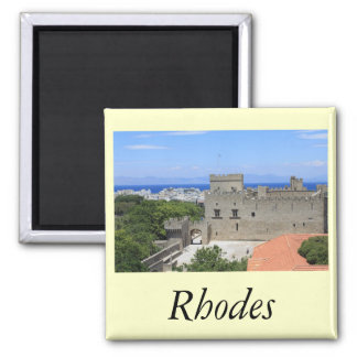 Rhodes 2 Inch Square Magnet