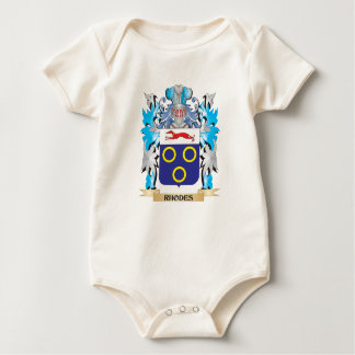 Rhodes Coat of Arms - Family Crest Romper