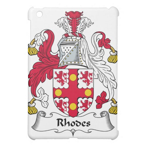 Rhodes Family Crest Case For The iPad Mini