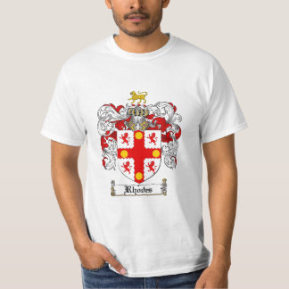 Rhodes Family Crest - Rhodes Coat of Arms T-Shirt