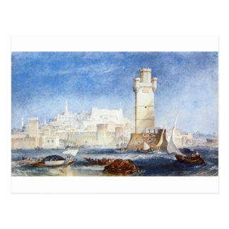 Rhodes (for Lord Byron's Works) by William Turner Postcard