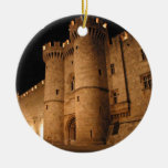 Rhodes  Greece angie Christmas Ornaments