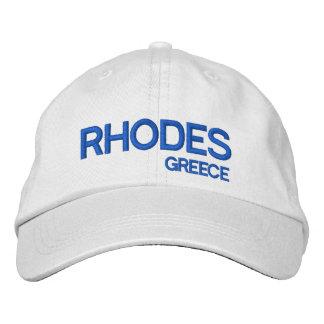 Rhodes, Greece Custom Baseball Cap