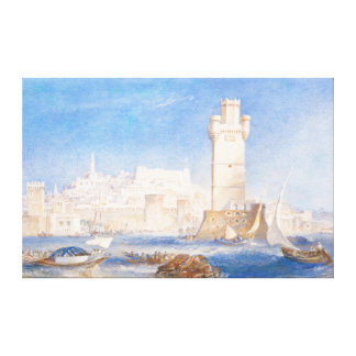Rhodes Joseph Mallord William Turner waterscape Canvas Prints
