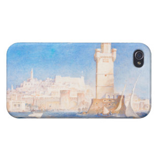 Rhodes Joseph Mallord William Turner waterscape iPhone 4/4S Cases
