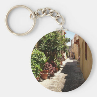 Rhodes The Old Town Keychain