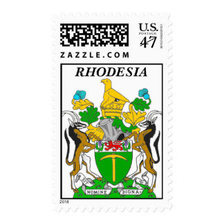 Rhodesia Coat of Arms Stamps. Postage