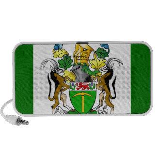 Rhodesia Flag Notebook Speakers
