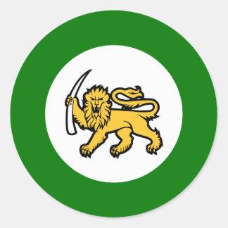 Rhodesian Air Force Classic Round Sticker