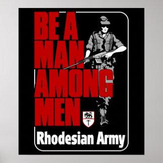 Rhodesian Army Poster