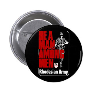 Rhodesian Army Poster Buttons