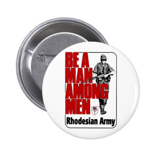 Rhodesian Army Poster Pinback Buttons