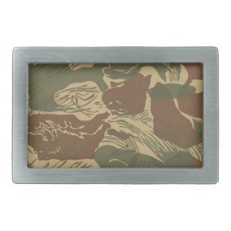 Rhodesian Camo Belt Buckle