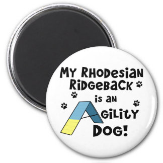 Rhodesian Ridgeback Agility Dog Magnet