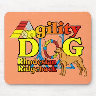 Rhodesian_Ridgeback_Agility Mouse Pad