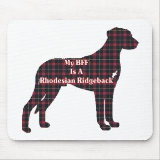 Rhodesian Ridgeback BFF Gifts Mouse Pad