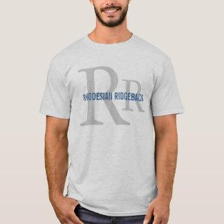 Rhodesian Ridgeback Breed Monogram T-Shirt