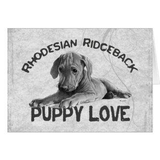 Rhodesian Ridgeback Card