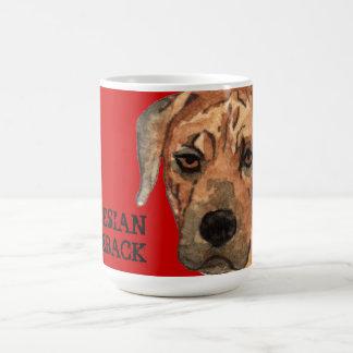 Rhodesian Ridgeback Color Block Coffee Mug