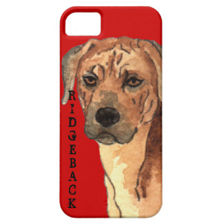 Rhodesian Ridgeback Color Block iPhone SE/5/5s Case