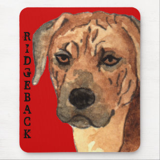 Rhodesian Ridgeback Color Block Mouse Pad