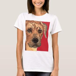 Rhodesian Ridgeback Color Block T-Shirt