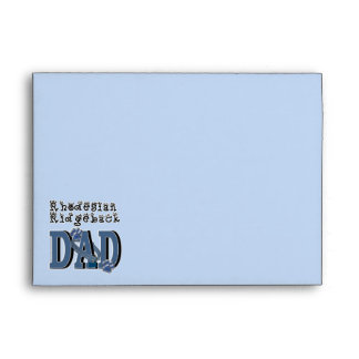 Rhodesian Ridgeback DAD Envelopes