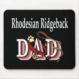 Rhodesian Ridgeback Dad Gifts Mouse Pad