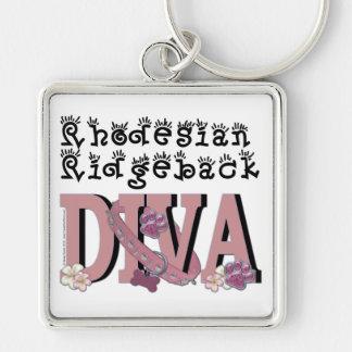 Rhodesian Ridgeback DIVA Keychain