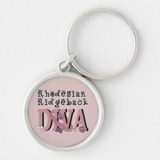 Rhodesian Ridgeback DIVA Key Chains