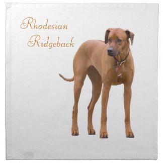 Rhodesian Ridgeback dog beautiful photo Cloth Napkin