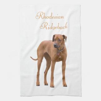 Rhodesian Ridgeback dog beautiful photo, gift Kitchen Towel