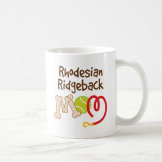 Rhodesian Ridgeback Dog Breed Mom Gift Classic White Coffee Mug