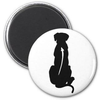 Rhodesian Ridgeback Dog Breed Spine 2 Inch Round Magnet