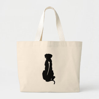 Rhodesian Ridgeback Dog Breed Spine Canvas Bag