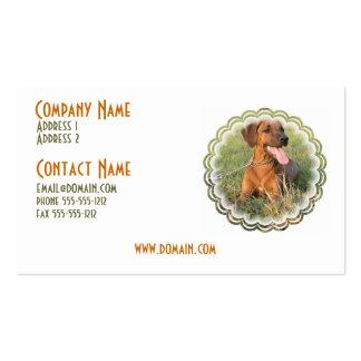 Rhodesian Ridgeback Dog Business Card