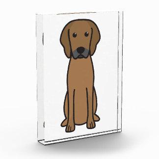 Rhodesian Ridgeback Dog Cartoon Acrylic Award