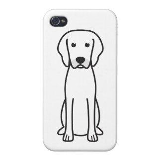 Rhodesian Ridgeback Dog Cartoon Cases For iPhone 4