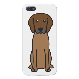 Rhodesian Ridgeback Dog Cartoon Covers For iPhone 5