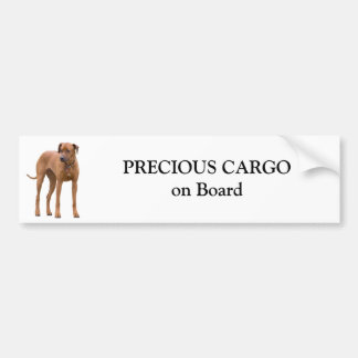 Rhodesian Ridgeback dog custom sticker