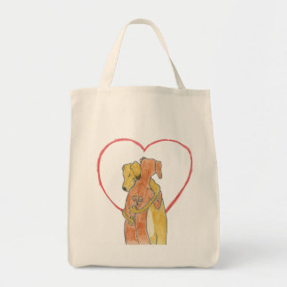 Rhodesian Ridgeback hug bag