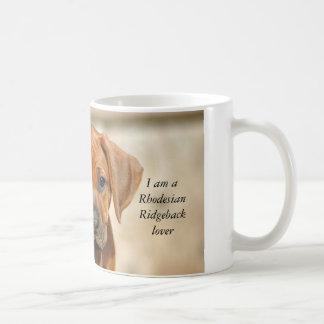 Rhodesian Ridgeback lover mug