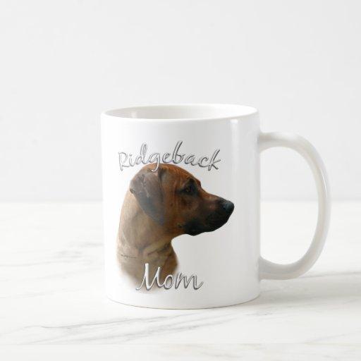 Rhodesian Ridgeback Mom 2 Coffee Mug