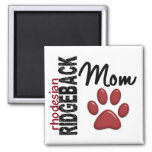 Rhodesian Ridgeback Mom 2 Fridge Magnet