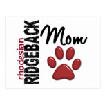 Rhodesian Ridgeback Mom 2 Postcard