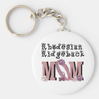Rhodesian Ridgeback MOM Key Chains