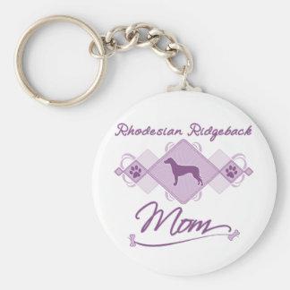 Rhodesian Ridgeback Mom Key Chain