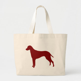 Rhodesian Ridgeback (Red) Canvas Bags