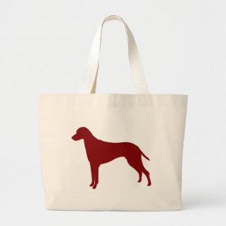 Rhodesian Ridgeback (Red) Large Tote Bag