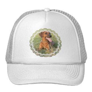 Rhodesian Ridgeback Rescue Baseball Cap Hat